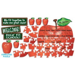 Welcome Apple Puzzle