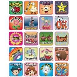 80 Pegatinas de Incentivo en ingl̩s - Incentive stickers in English