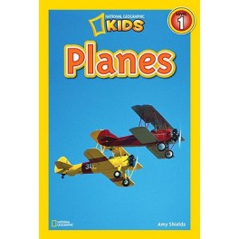 National Geographic Readers: Planes -  4-6 years