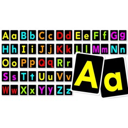 Bulletin Board Big Letters A to Z