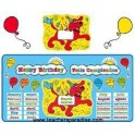 Bulletin Board Happy Birthday Clifford Bilingual