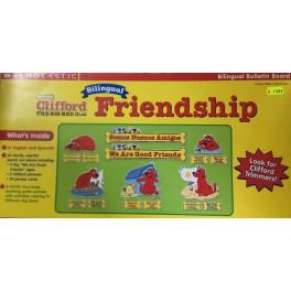 Bulletin Board Friendship Clifford Bilingual