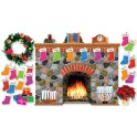 Bulletin Board Holiday Hearth