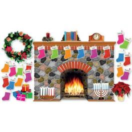 Bulletin Board Holiday Hearth