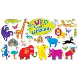 Bulletin Board Jingle Jungle Animals