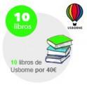 Pack 10 libros USBORNE TAPA DURA