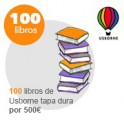 Pack 100 libros USBORNE TAPA DURA