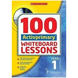 100 Activprimary Whiteboard Lessons: Year 1