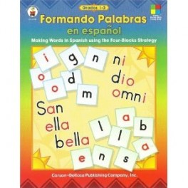 Libro: Formando Palabras en espa̱ol - Making Words in Spanish""