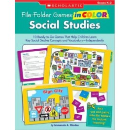 File-Folder Games in Color: Social Studies - SC951763