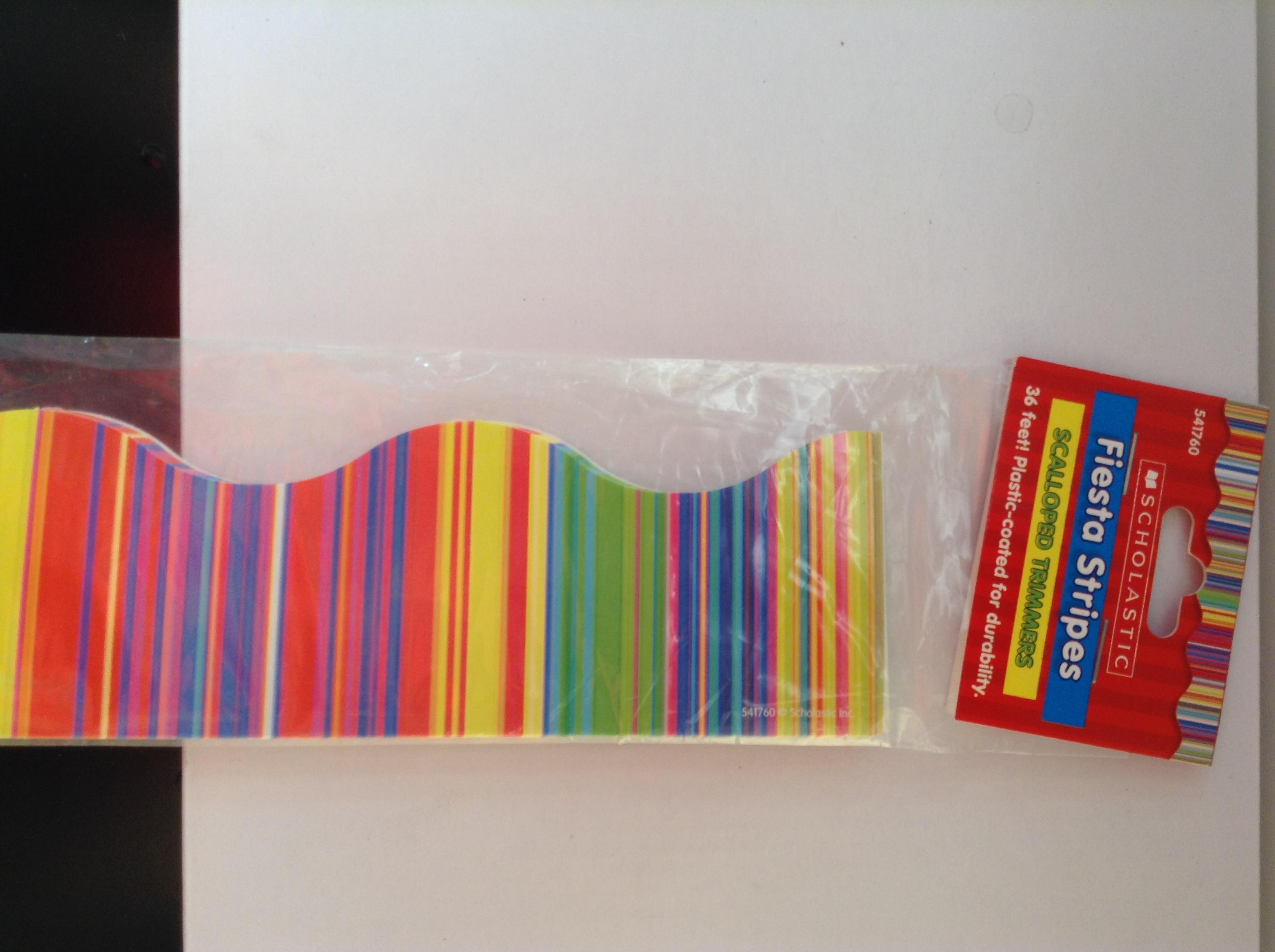 Cenefas decorativas-Scholastic-franja de colores